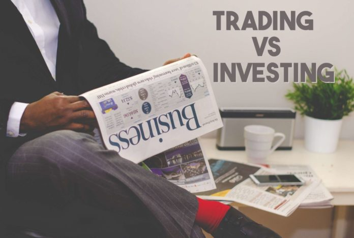 Investing और Trading