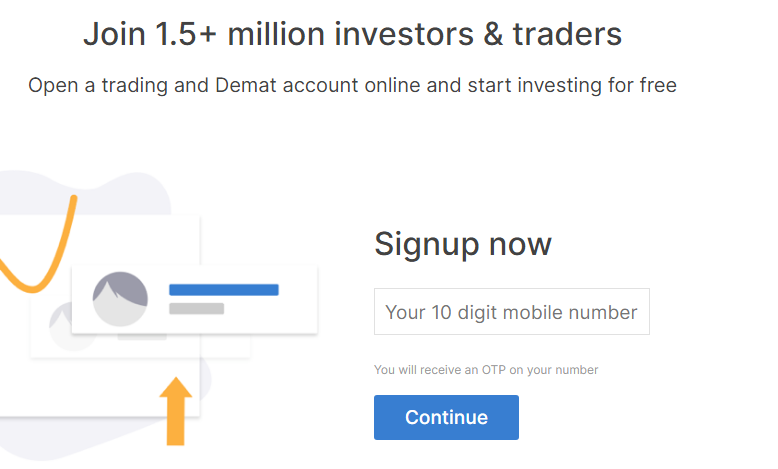 Zerodha Sign Up