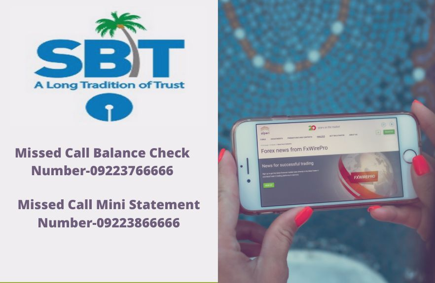 SBT Balance Check Toll Free  Number – Balance Enquiry